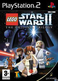 Portada oficial de LEGO Star Wars 2: The Original Trilogy para PS2