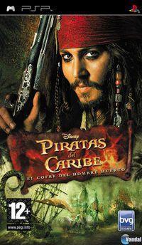 Portada oficial de Piratas del Caribe: el Cofre del Muerto para PSP