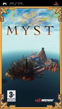 Portada oficial de Myst para PSP