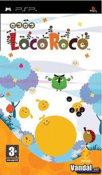 Portada oficial de LocoRoco para PSP