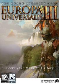 Portada oficial de Europa Universalis 3 para PC