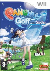 Portada oficial de Pangya! Golf with Style para Wii
