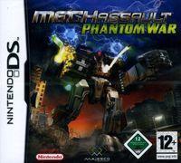 Portada oficial de MechAssault: Phantom War para NDS