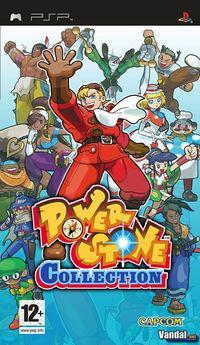 Portada oficial de Power Stone Collection para PSP