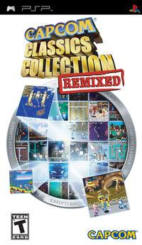Portada oficial de Capcom Classics Collection Remixed para PSP