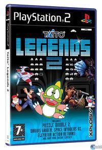 Portada oficial de Taito Legends 2 para PS2