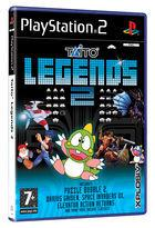 Portada oficial de de Taito Legends 2 para PS2