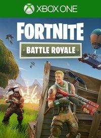 Portada oficial de Fortnite Battle Royale para Xbox One