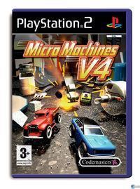 Portada oficial de Micro Machines V4 para PS2