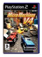 Portada oficial de de Micro Machines V4 para PS2