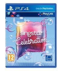 Portada oficial de SingStar Celebration para PS4