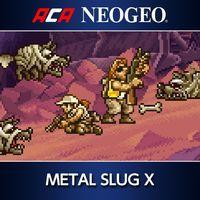 Portada oficial de NeoGeo Metal Slug X para PS4