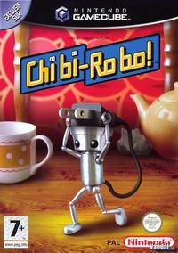 Portada oficial de Chibi-Robo! para GameCube