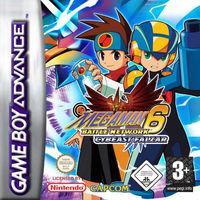 Portada oficial de Mega Man Battle Network 6 para Game Boy Advance