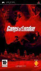 Portada oficial de de Gangs of London para PSP