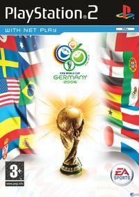Portada oficial de Copa Mundial de la FIFA 2006 para PS2
