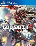 Portada oficial de de God Eater 3 para PS4