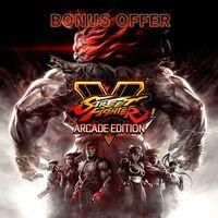 Portada oficial de Street Fighter V: Arcade Edition para PS4