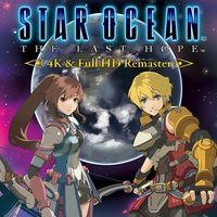 Portada oficial de Star Ocean: The Last Hope Remaster para PS4