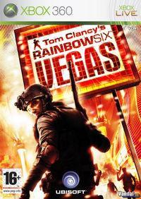 Portada oficial de Rainbow Six: Vegas para Xbox 360