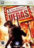 Portada oficial de de Rainbow Six: Vegas para Xbox 360