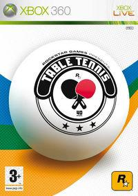 Portada oficial de Table Tennis para Xbox 360