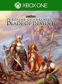 Portada oficial de Realms of Arkania: Blade of Destiny para Xbox One