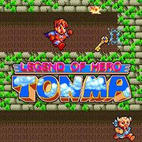 Portada oficial de Legend of Hero Tonma CV para Wii U