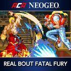 Portada oficial de de NeoGeo Real Bout Fatal Fury para PS4