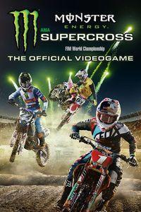 Portada oficial de Monster Energy Supercross - The Official Videogame para Xbox One