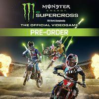 Portada oficial de Monster Energy Supercross - The Official Videogame para PS4