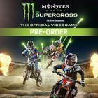 Portada oficial de de Monster Energy Supercross - The Official Videogame para PS4
