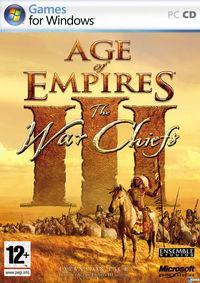 Portada oficial de Age of Empires 3: The Warchiefs para PC