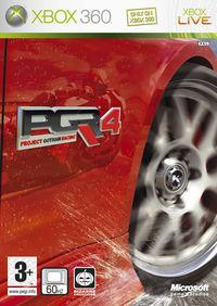 Portada oficial de Project Gotham Racing 4 para Xbox 360