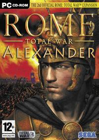 Portada oficial de Rome: Total War - Alexander para PC