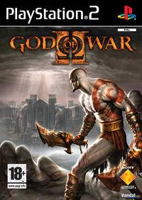 Portada oficial de God of War 2: Divine Retribution para PS2