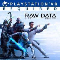 Portada oficial de Raw Data para PS4