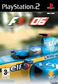 Portada oficial de Formula One 2006 para PS2