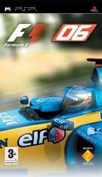 Portada oficial de Formula One 2006 para PSP