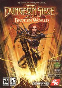 Portada oficial de Dungeon Siege 2: Broken World para PC