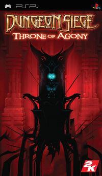 Portada oficial de Dungeon Siege: Throne of Agony para PSP