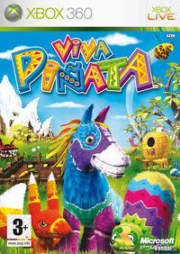 Portada oficial de Viva Piñata para Xbox 360