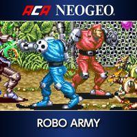 Portada oficial de NeoGeo Robo Army para PS4