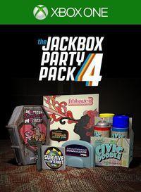Portada oficial de The Jackbox Party Pack 4 para Xbox One