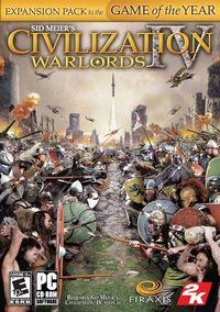 Portada oficial de Civilization IV: Warlords para PC