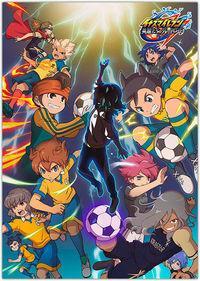 Portada oficial de Inazuma Eleven: Great Road of Heroes para PS4