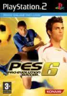 Portada oficial de de Pro Evolution Soccer 6 para PS2