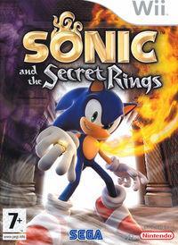 Portada oficial de Sonic y los Anillos Secretos para Wii