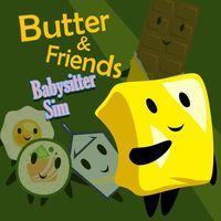 Portada oficial de Butter & Friends: Babysitter Sim para PS4