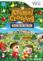 Portada oficial de de Animal Crossing: Let's Go To The City para Wii